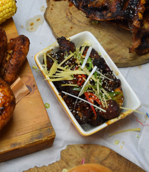 Yuzu Glazed Pork Belly | FireFly Barbecue