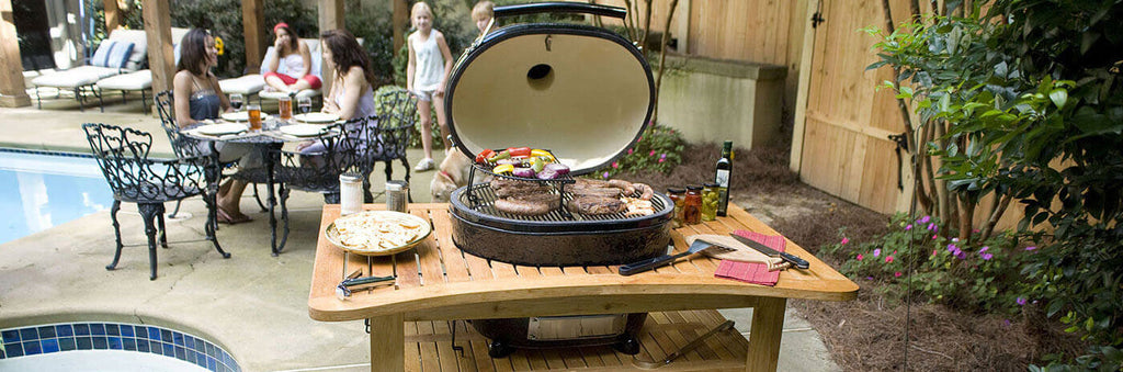 Primo Grill xl400 in table