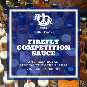Competition Sauce -Cherry - American Royal Best Sauce on the Planet 2019 - FireFly Barbecue