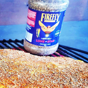 FireFly Barbecue:Dallas Lone Star Pepper Rub,Rubs