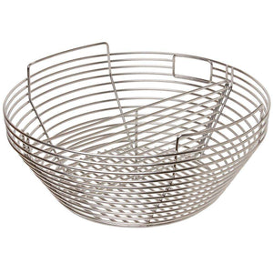 LeCHEF - charcoal basket with divider - FireFly Barbecue