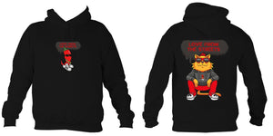 Love from the Streets - Hoodie - Big Red - FireFly Barbecue