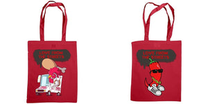 Love from the Streets - shoulder tote bag, JFC & Chilli - FireFly Barbecue