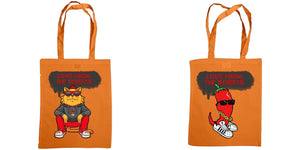Love from the Streets - Shoulder tote, Big red & Chilli - FireFly Barbecue
