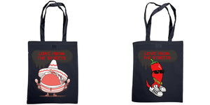 Love from the Streets - Shoulder tote, Magic taco & chilli logos - FireFly Barbecue