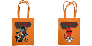 Love from the Streets - Shoulder tote, Shotgun powder & chilli logos - FireFly Barbecue