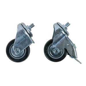 MONOLITH Junior- cart replacement castors - FireFly Barbecue
