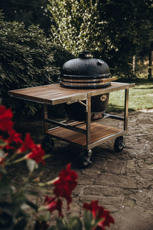 MONOLITH LeCHEF - Buggy & side table - FireFly Barbecue