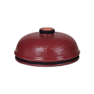 MONOLITH LeCHEF - ceramic lid red - FireFly Barbecue