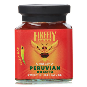 Peruvian Rocoto Sweet Hot Chilli Sauce - FireFly Barbecue