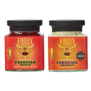 Taste of Peru Chilli Sauce Gift Set - FireFly Barbecue