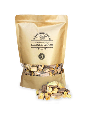 Wood Chips - Orange, Lemon, Almond - FireFly Barbecue