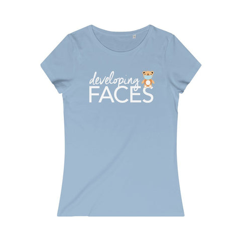 developing faces t-shirt