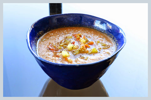 kate stoltz gazpacho soup recipe