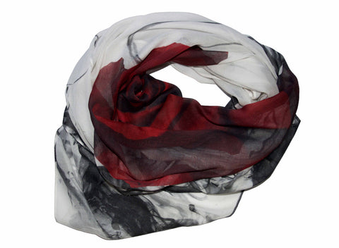 Kate Stoltz high quality cashmere modal scarf new york city designer
