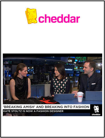 kate stoltz television interview cheddar tv