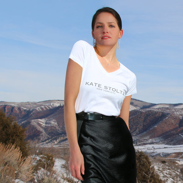 kate stoltz logo t shirt