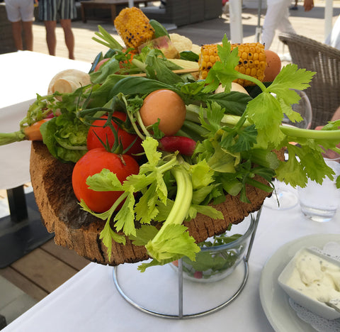Food in St Tropez, South of France