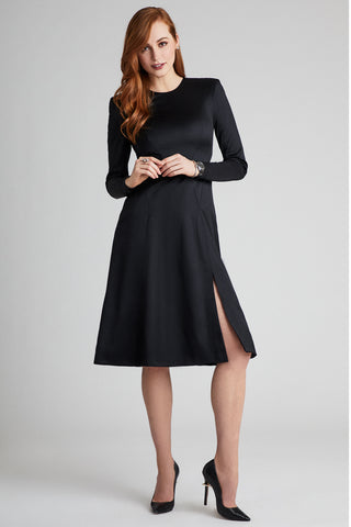 Merino Wool Suiting Dress