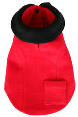 red cashmere kate stoltz dog coat