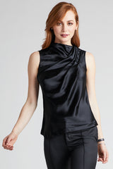 Kate Stoltz draped silk blouse