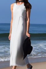 Asymmetrical Silk Dress