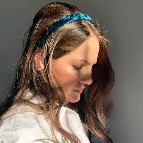 Luxe Velvet Headband / 9 Colors