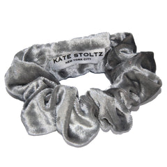 silver-ice-gray-velvet-scrunchie
