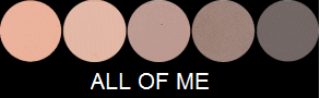 Eye Candy Palette - All Of Me