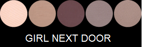 Eye Candy Palette - Girl Next Door