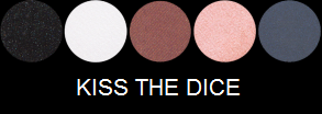 Eye Shadow Palette - Kiss The Dice