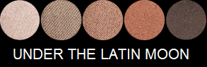 Eye Shadow Palette - Under The Latin Moon