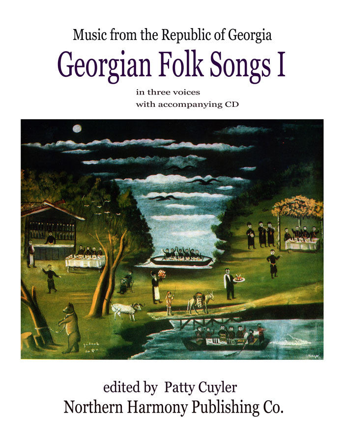 Georgian Folk Songs I (book + cd or digital download)