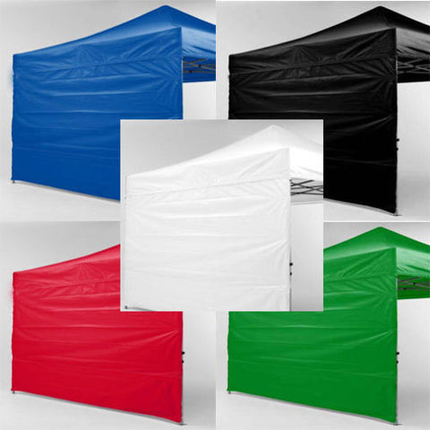 10 x 10 Tent Canopies Zipper Walls 2 Wall Pack. - Urban Square Displays
