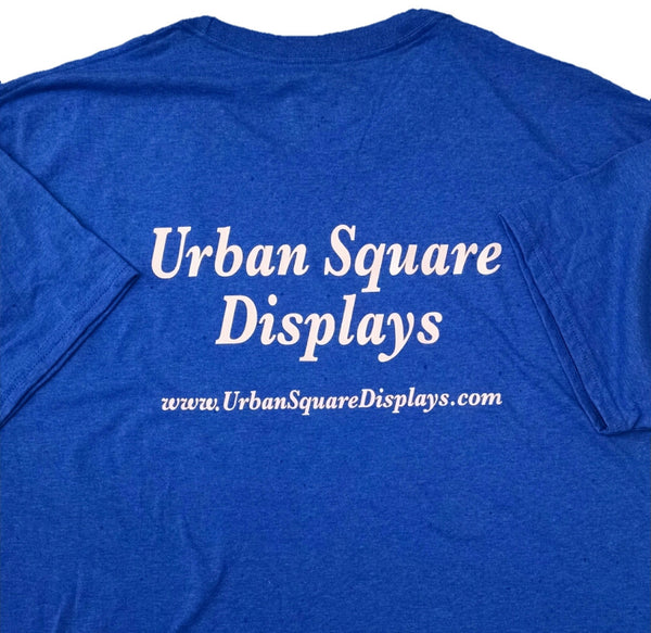 Custom Printed Tee Shirts - Urban Square Displays