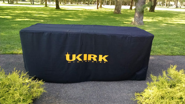 Custom Printed Table Cloth - Urban Square Displays