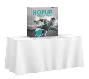 Table Top pop up 2.5' Straight Display - Urban Square Displays