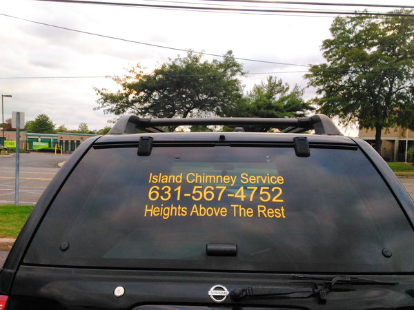 Custom Car Truck Lettering - Urban Square Displays