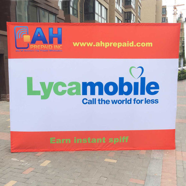 10' Pop Up Trade Show Display Booth - Urban Square Displays