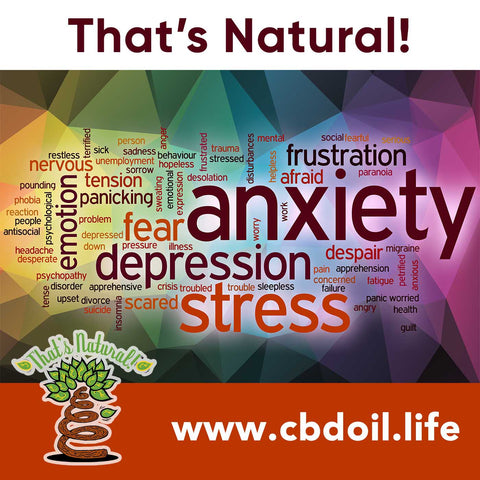 That's Natural CBD Oil for anxiety and stress