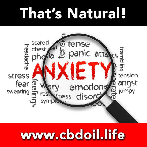 That's Natural CBD for Anxiety