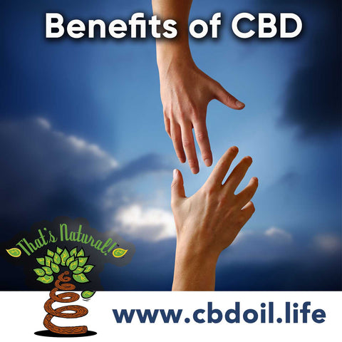 Benefits of CBD Oil from hemp - legal in all 50 States from That's Natural at cbdoil.life!