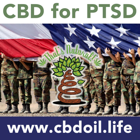 CBD for PTSD (Post Traumatic Stress Disorder) - Research about cannabinoids from That's Natural at cbdoil.life