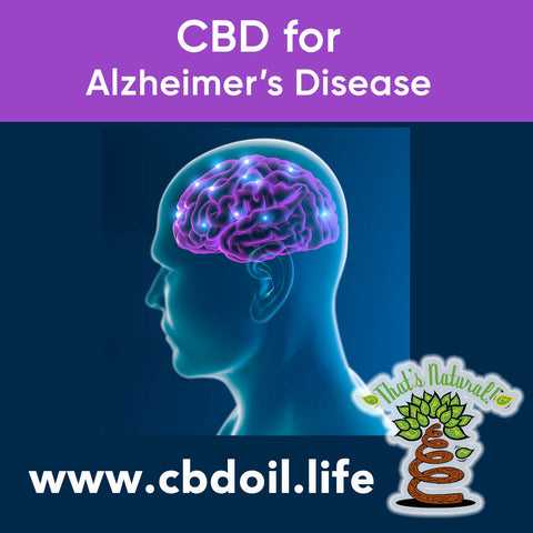 CBD for Alzheimer's Disease - Cannabinoids for Dementia - Research and News on the Endocannabinoid System from That's Natural at www.cbdoil.life