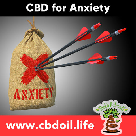 CBD for Anxiety, CBD for Depression, CBD for PTSD - Cannabidiol Research from That's Natural at www.cbdoil.life