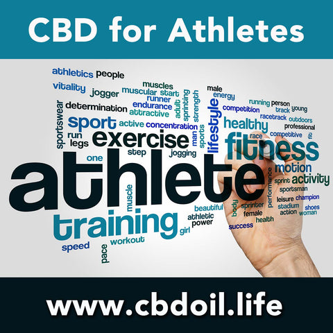 Cannabinoids like CBD are good for athlete's pain management - Full Spectrum Oil from That's Natural at www.cbdoil.life