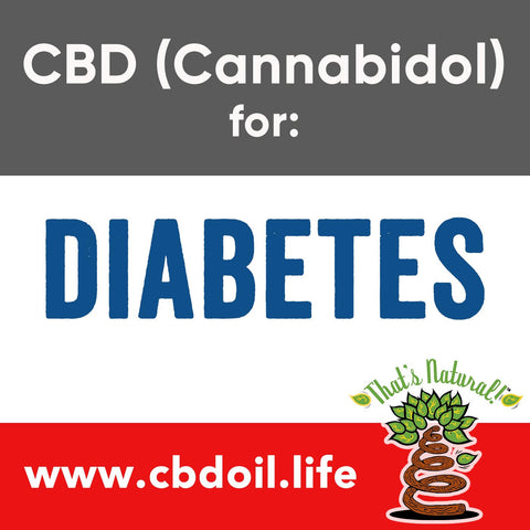 CBD for Diabetes - CBD (Cannabidiol) Research and Journal Articles for Studies on CBD for Diabetes - From That's Natural at www.cbdoil.life