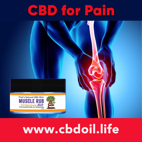 most trusted CBD, best rated CBD, That's Natural Muscle Jelly Rub, CBD for knee pain, CBD for hip pain, family owned CBD company, That's Natural full spectrum CBD and CBDA products at www.cbdoil.life, cbdoil.life