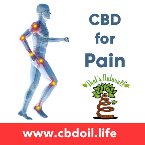 CBD for Pain, Cannabinoids for Pain - That's Natural CBD Rich Hemp Oil Products - legal in all 50 States - www.cbdoil.life