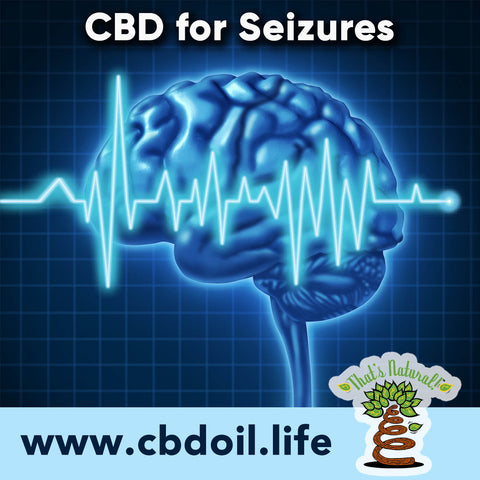 CBD for Seizures, Cannabinoids for Epilepsy, Research showing the potential benefits of CBD for these issues - see more at That's Natural www.cbdoil.life